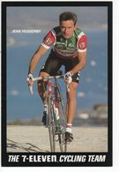 JEN VEGGERBY  7 ELEVEN 1989 - Cyclisme