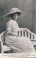 ! Alte Ansichtskarte, Adel, Royalty, Kronprinzessin Cecilie Von Preussen, Blumentag 1911, Provinz Brandenburg, Stolp - Familles Royales