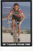 ROY KNICKMAN    7 ELEVEN 1989 - Cyclisme