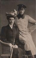 ! Alte Ansichtskarte, Adel, Royalty, Kronprinzessin Cecilie Von Preussen Mit Gatten, Verlag Liersch, Berlin, Nr. 1155a - Familles Royales