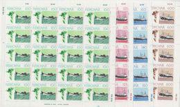 Faroe Islands 1977 Fishing Ships 4v Sheetlets ** Mnh (F8335) - Färöer Inseln