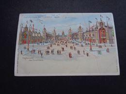 Carte ( 1363 )  Thème : Tegenlichtkaart  Hold To Light  Contre La Lumière -  Exposition Paris 1900 - Contre La Lumière