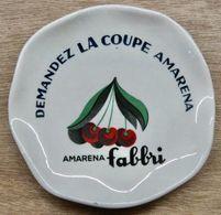 CENDRIER DEMANDEZ LA COUPE AMARENA AMARENA FABBRI / GENERAL EXPORT FRANCE LION IMPORTE D'ITALIE - Cendriers