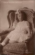 ! Alte Ansichtskarte, Adel, Royalty, Prinzessin Alexandrine Von Preussen, Aufnahme Niederastroth Potsdam - Familles Royales