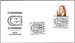 Matasellos VII EXFIENSIDESA. Gijon, Asturias, 2006 - 2001-10 Lettres