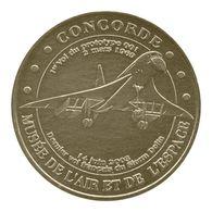 Monnaie De Paris , 2010 , Le Bourget , Musée De L'air Et De L'espace , Concorde - Monnaie De Paris