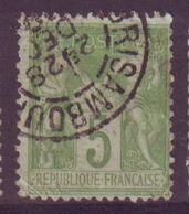Brisambourg Charente Maritime Obliteration Type 84 Sur Sage - 1877-1920: Periodo Semi Moderne