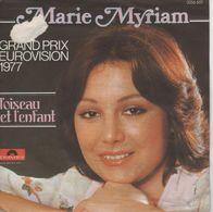 Disque 45 Tours MARY MYRIAM - 1977 Polydo 2056 601 - Grand Prix Eurovision 1977 - Disco, Pop
