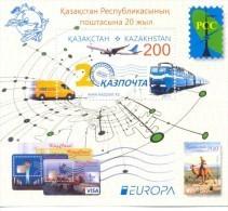 2013. Kazakhstan, RCC, 20y Of Kazakhstan Post, S/s, Mint/** - Kazakhstan