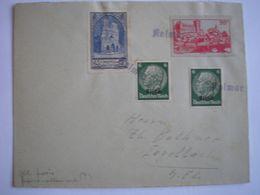 ALSACE - Affranchissement Mixte Franco-Alsace Sur Enveloppe De  Colmar - A VOIR - Marcophilie (Lettres)