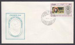 FDC CUBA 1987. CHÉ. XX ANIVERSARIO DE LA MUERTE DEL GUERRILLERO HEROICO. EDIFIL 3284 - FDC