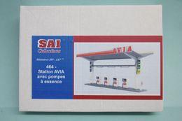 SAI - STATION AVIA Avec Pompes à Essences Maquette Réf. 464 Neuf NBO HO 1/87 - Decoración