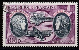 Timbre France Pionniers De La Poste Aérienne Aviation Avion Plane   N° Yvert PA 47 De 1972 Oblitéré - Poste Aérienne