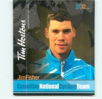 Jim FISHER , Carte Format 7.5 X 9 Cm . 2 Scans. Cyclisme Canadian National Cycling Team 2002 - Cyclisme