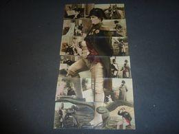 NAPOLEON BONAPARTE - 12 CARTES POSTALES PUZZLE COMPLET **** RARE *****(CN) - Hommes Politiques & Militaires