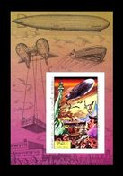 Guiné-Bissau: 'Zeppelin LZ 129 Hindenburg – Imperf., 1978', Mi. BL 87 U; Yv. PA.33 ND; Sc. 382D ** - Zeppelins