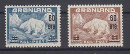Greenland 1956 - Michel 37-38 MNH ** - Groenland
