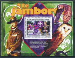 NB - [402094]TB//**/Mnh-Guinée 2007 - 21 ème Jamboree Mondial, Scoutisme, Hiboux & Chouettes - Scoutisme