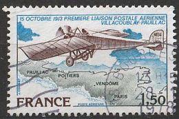 Timbre France  De La Poste Aérienne Aviation Avion Plane   N° Yvert PA 51 De 1978 Oblitéré - Poste Aérienne
