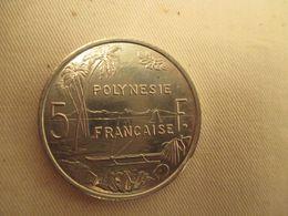 5 Francs Polynesie Francaise  Allu  1992 - Polynésie Française