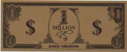 Billet Fictif France ? : Paco Rabanne 1 Million $ (158mm X 64mm) - Specimen