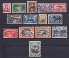 PHILIPPINES 1936, Mi# 264-266, CV €65, Architecture, Animals, MH - Philippines