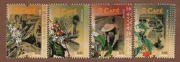 Portugal  2014  Mi.Nr. 3983 / 3986 , Cafe / The Coffee - Postfrisch / MNH / (**) - 1910-... Republic
