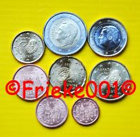 Spanje - Espagne - 1 Cent Tot 2 Euro Unc 2020. - Spain