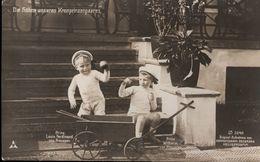 ! Alte Ansichtskarte, Adel, Royalty, Söhne Des Kronprinzenpaares,  Aufnahme Beckmann, Heiligendamm 1909 - Familles Royales