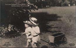 ! Alte Ansichtskarte, Adel, Royalty, Prinz Wilhelm Von Preußen, Louis Ferdinand,  Aufnahme G. Berger, Potsdam 1909 - Familles Royales