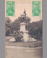 GUINEE - CONAKRY / LA STATUE DU GOUVERNEUR (avec PHILATELIE AOF) - Guinée Française