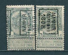 155 Voorafstempeling Op Nr 53 - NAMUR STATION 1898 - Positie A & B - Préoblitérés