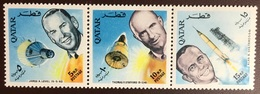 Qatar 1966 Astronauts Space Strip MNH - Qatar