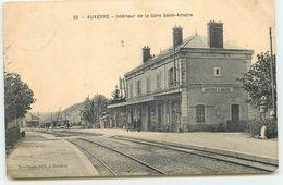 AUXERRE - Intérieur De La Gare Saint-Amatre - Auxerre