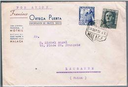España, 1951, Malaga-Lausanne - 1931-Oggi: 2. Rep. - ... Juan Carlos I