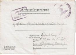 KRIEGSGEFANGENENPOST - Marcel LAMBERT (Stalag XI A) Vers GEMBLOUX Le 9-3-1941 - Guerre 40-45