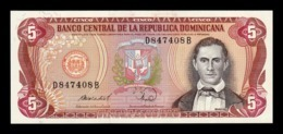 República Dominicana 5 Pesos Oro 1988 Pick 118c SC UNC - Dominicana