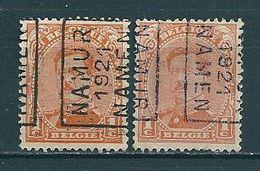2649 Voorafstempeling Op Nr 135 - NAMUR 1921 NAMEN - Positie A & B - Préoblitérés