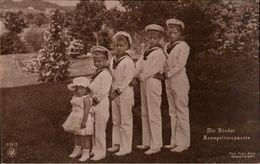 ! Alte Ansichtskarte, Adel, Royalty, Die Kinder Des Kronprinzenpaares, Photo Franz Arndt, Danzig Langfuhr, NPG 6353 - Familias Reales