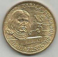 Uruguay 5 Pesos 1976. Montevideo High Grade - Uruguay