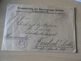 Feldpost Kriegszeitung Der Heresgruppe Scholtz 1917 - 1914-18
