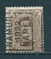 2822 Voorafstempeling Op Nr 136 - NAMUR 1922 NAMEN - Positie A - Préoblitérés