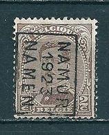 3053 Voorafstempeling Op Nr 136 - NAMUR 1922 NAMEN - Positie B - Préoblitérés