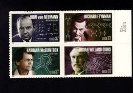 1037188399 SCOTT 3909A POSTFRIS MINT NEVER HINGED EINWANDFREI - AMERICAN SCIENTISTS - Etats-Unis
