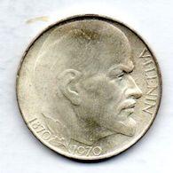 CZECHOSLOVAKIA, 50 Korun, Silver, Year 1970, KM #70 - Tchécoslovaquie