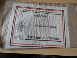 Zeitungsbanderole Der Feldzeitung Der Armee-Abteilung A  WK I - 1914-18