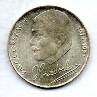 CZECHOSLOVAKIA, 50 Korun, Silver, Year 1971, KM #72 - Tchécoslovaquie