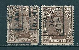3663 Voorafstempeling Op Nr 136 - NAMUR 1926 NAMEN - Positie A & B - Préoblitérés