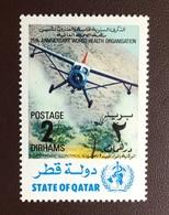 Qatar 1973 WHO Aircraft From Set MNH - Qatar