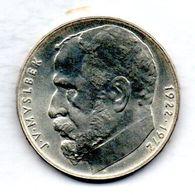 CZECHOSLOVAKIA, 50 Korun, Silver, Year 1972, KM #77 - Tchécoslovaquie